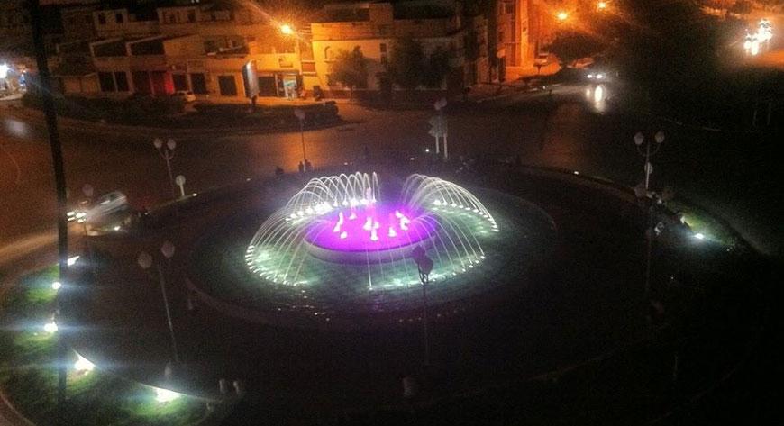 Nueva fuente ornamental en Argelia