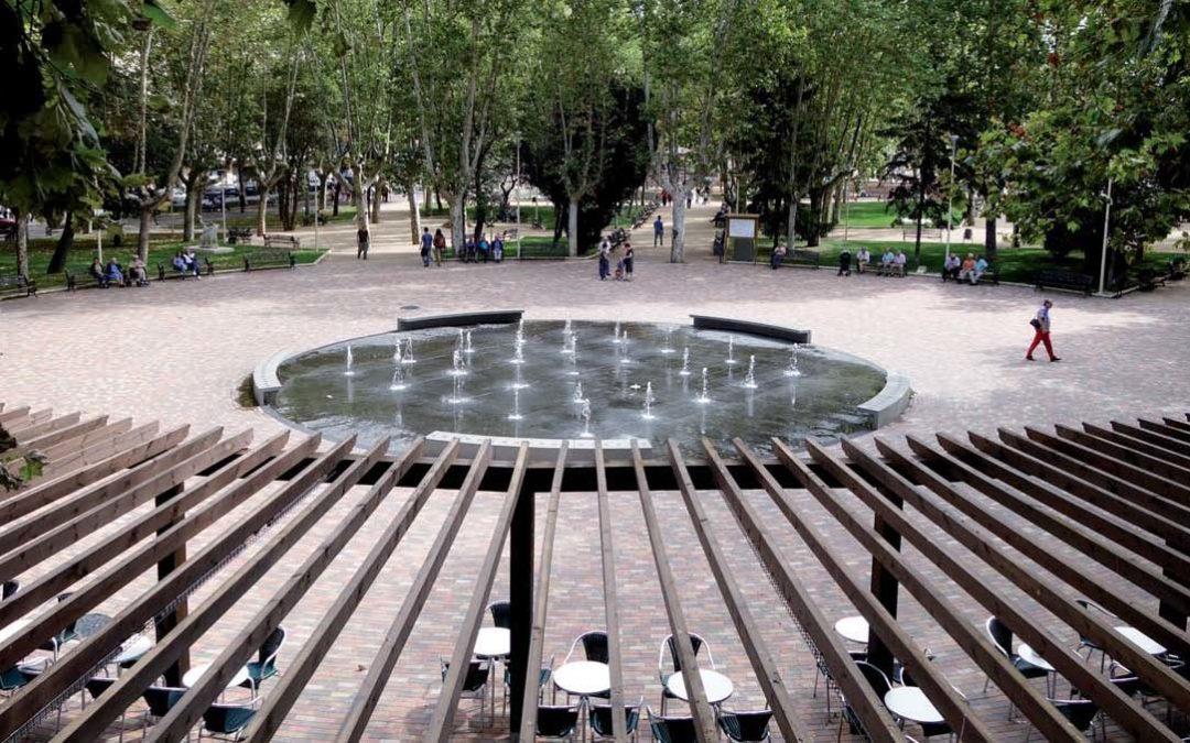 Fuente transitable en Parque de la Alamedilla, Salamanca