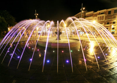 Fuente transitable Alcalá la Real (Jaén)