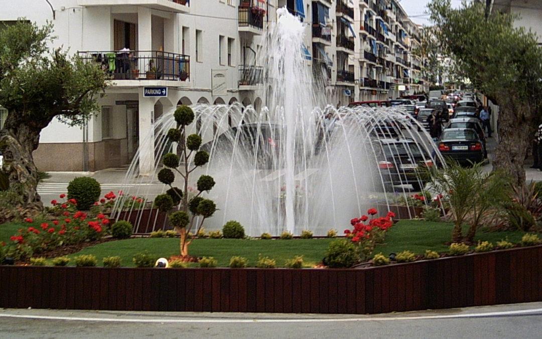 Fuente ornamental en Altea (Alicante)
