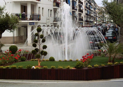 Fuente ornamental en Altea (Alicante)