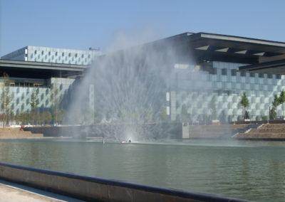 Pantalla de Agua. Las Tablas (Madrid)