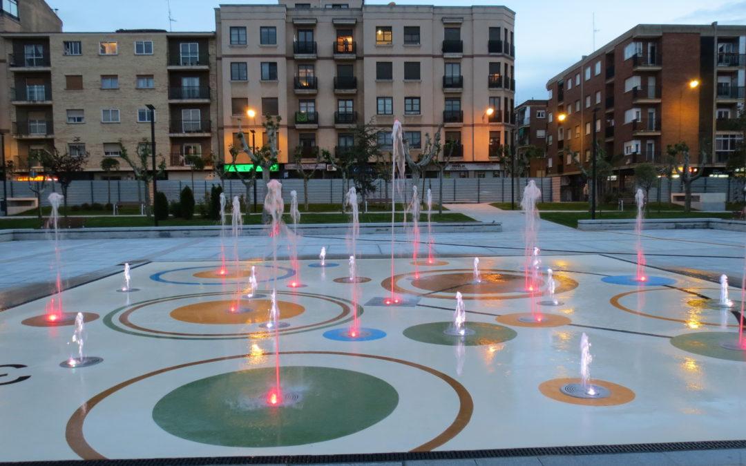 Fuente Transitable Parque de Garrido. Salamanca