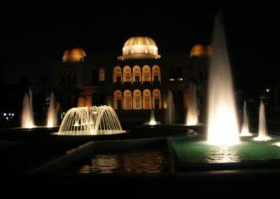 Fuente Ornamental en Trípoli (Libia)