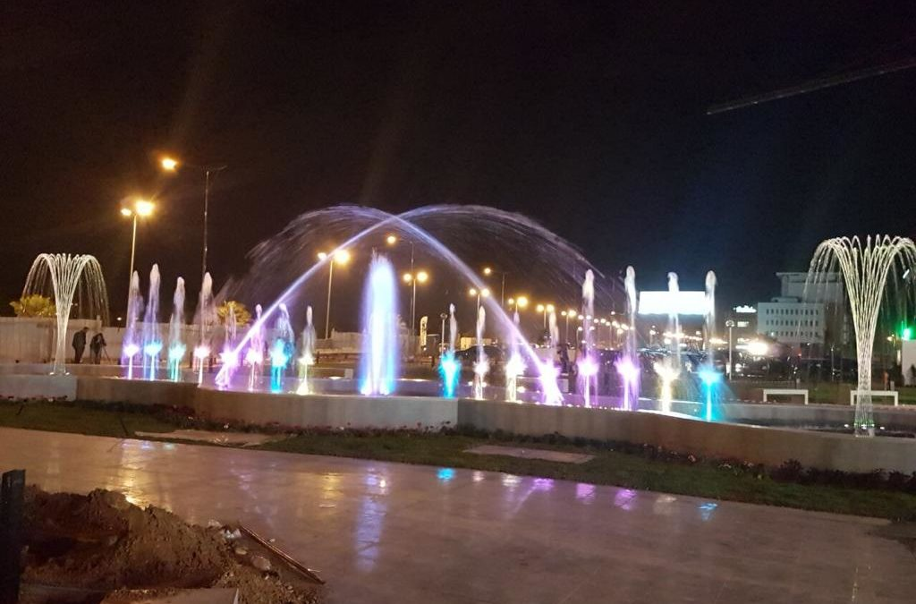 Fuente ornamental África Mall (Túnez)